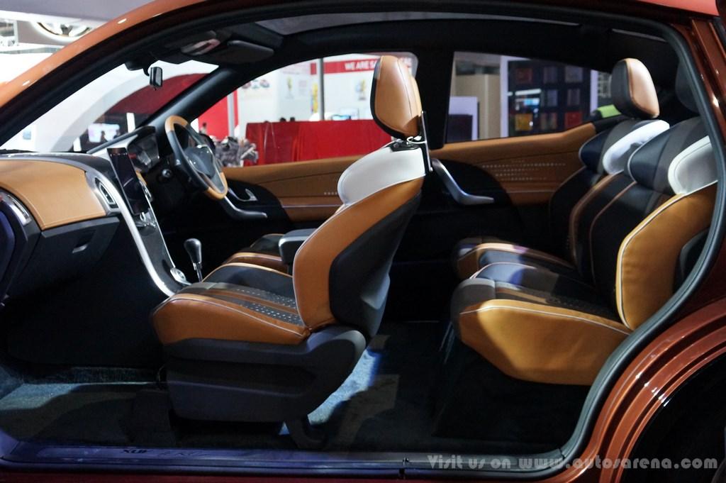 Mahindra XUV Aero Concept Interiors (3)