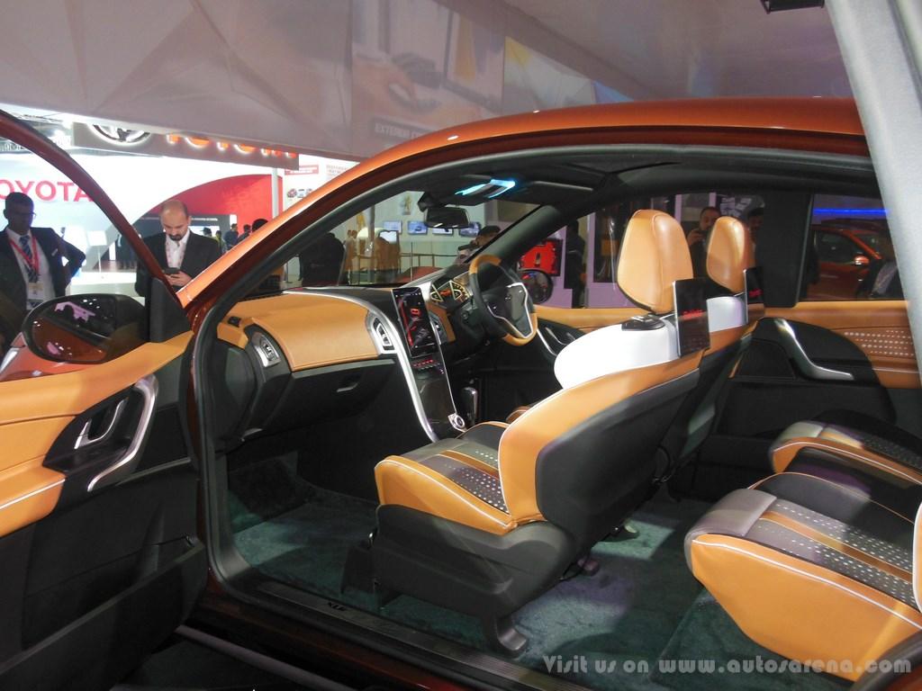 Mahindra XUV Aero Concept Interiors (6)
