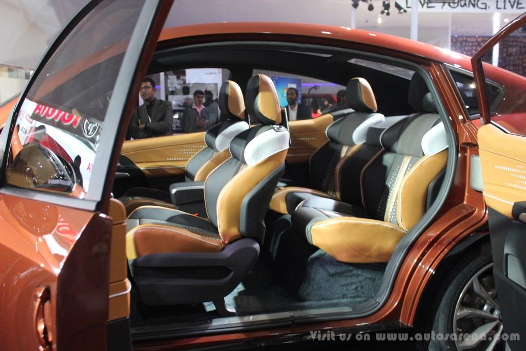 Mahindra XUV Aero Concept Interiors (7)