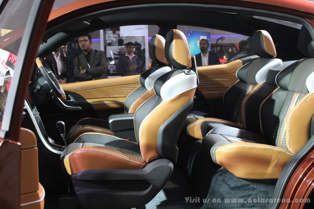 Mahindra XUV Aero Concept Interiors (8)