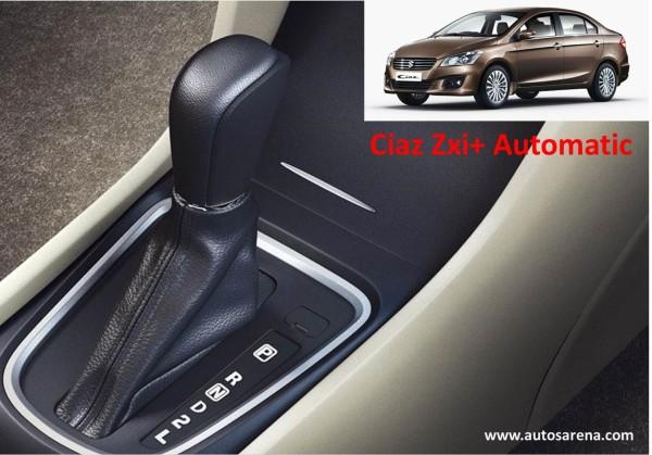 Maruti Suzuki Ciaz ZX+ Automatic