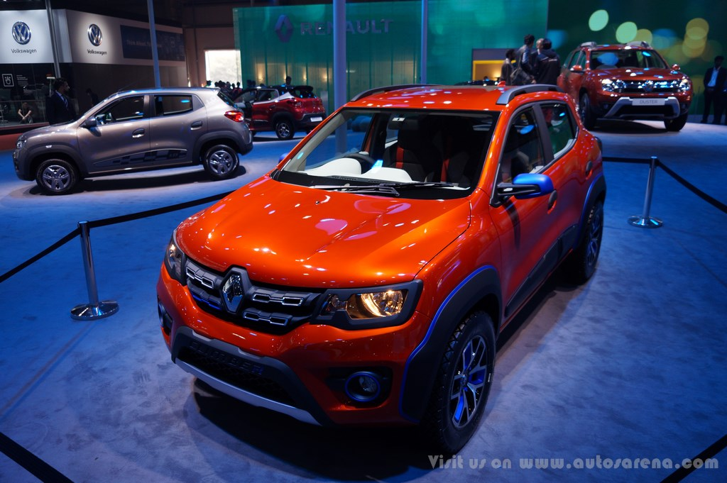 Renault Kwid Climber concept Exteriors (1)