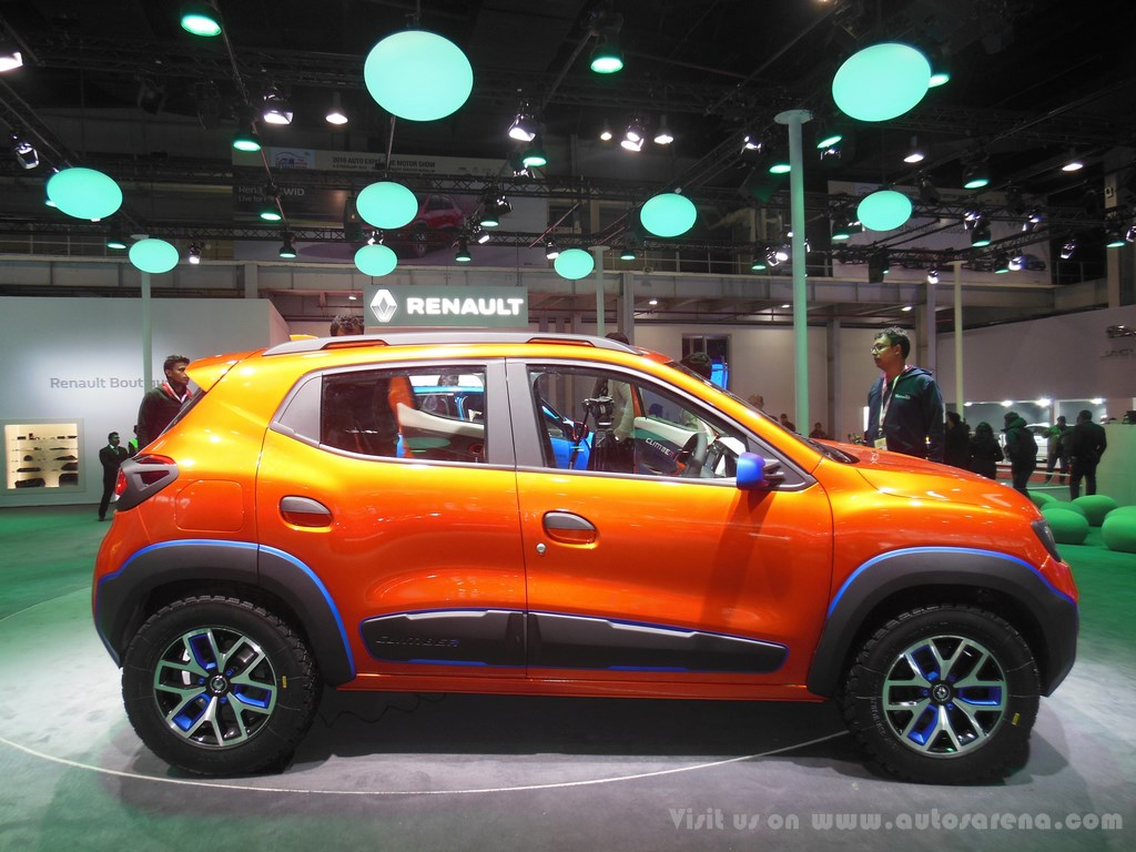 Renault Kwid Climber concept Exteriors (6)
