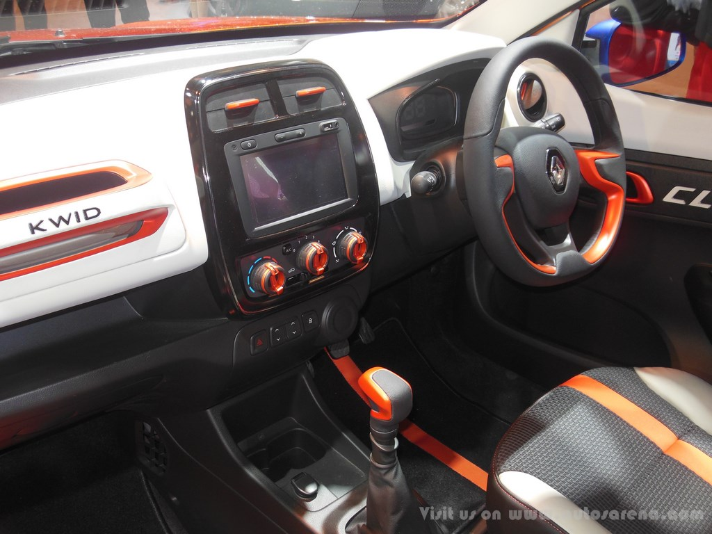 renault kwid amt price with Renault Unveils Kwid Climber Concept At 2016 Auto Expo on 2017 Renault Kwid Climber A Closer Look 404499 additionally Maruti Suzuki Celerio Interior Automatic moreover Renault KWID Climber 1 0 AMT as well Up ing Amt Cars In India 2016 further Renault Unveils Kwid Climber Concept At 2016 Auto Expo.