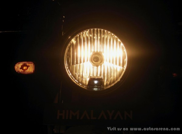 Royal Enfield Himalayan Head light 2