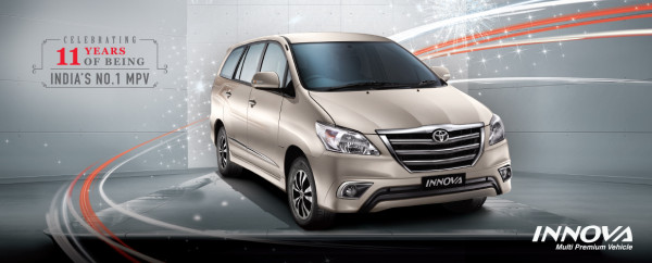 Toyota bids adieu to the decade old Innova