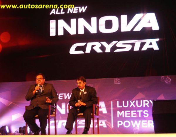 Innova Crysta Mumbai launch