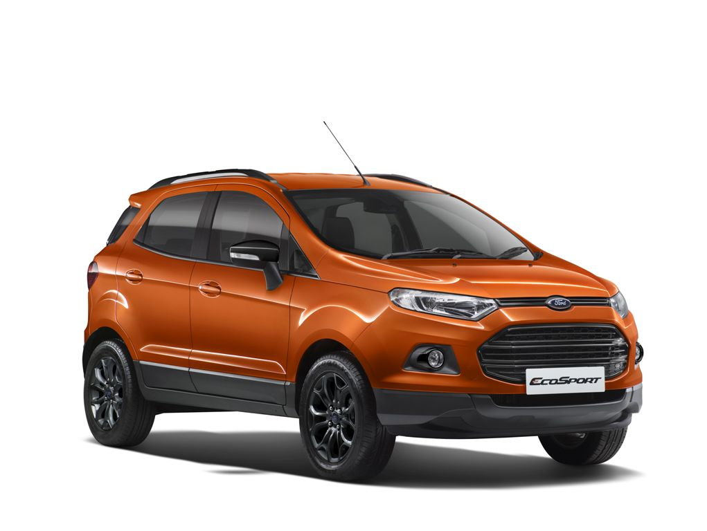 ford introduces ecosport in a trendy black edition