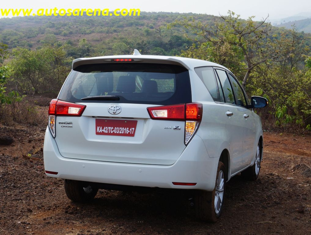 Toyota Innova Crysta It S All About Power Amp Luxury