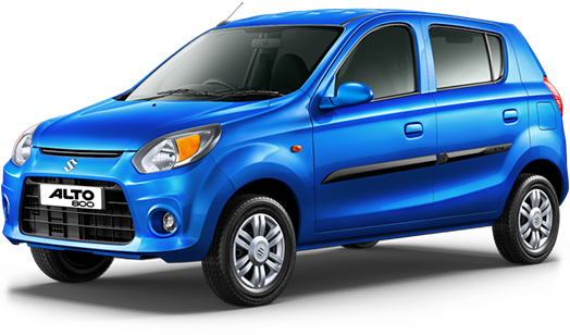 Maruti Suzuki Alto 800 Cerulean blue