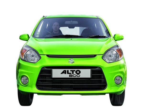 Maruti Suzuki Alto 800 facelift front