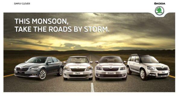 SKODA - Pre monsoon Campaign