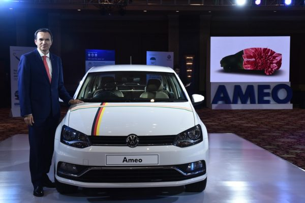 Volkswagen India launches mobile application for Ameo