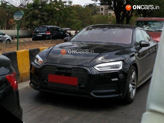 Audi A5 Sport-back testing