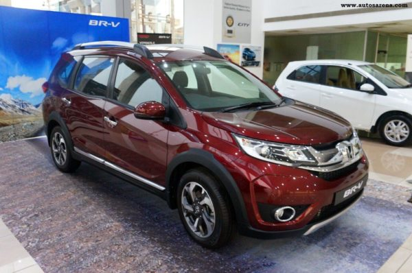 Honda BR-V receives 10,000 bookings