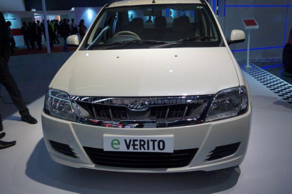 Mahindra e-Verito front