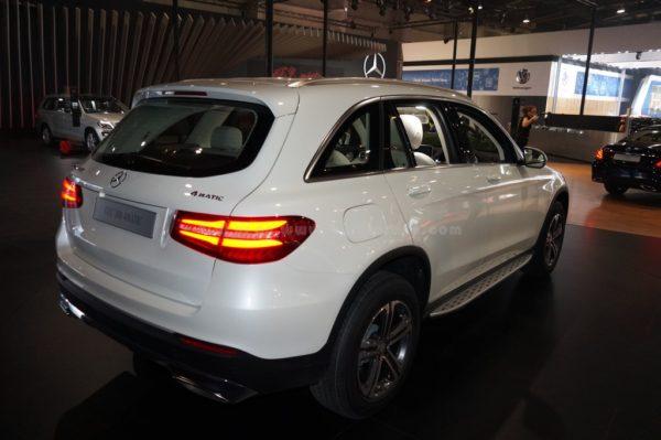 Mercedes-Benz GLC SUV exterior (10)