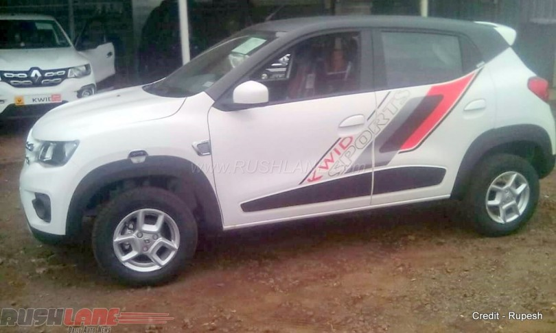 Renault Kwid Sports Customised Version Introduced By Dealer
