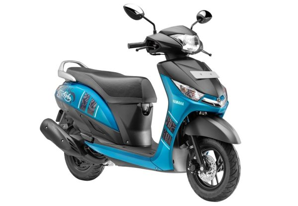 Yamaha Cygnus Alpha with Disc Brake Radiant Cyan