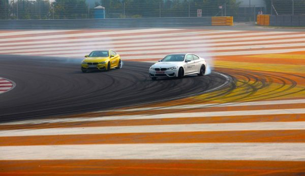 03. The BMW M Cars on race track