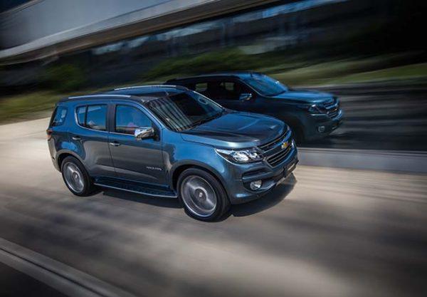 Chevrolet Trailblazer Facelift 1
