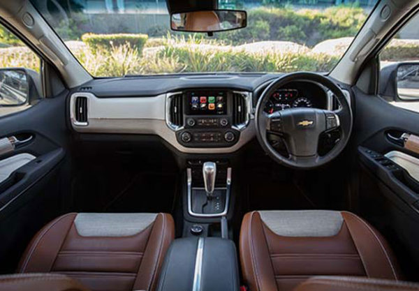 Chevrolet Trailblazer Facelift features 8-inch MyLink 2 touchscreen