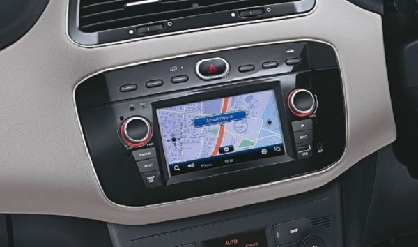Fiat Linea 125 S touch screen