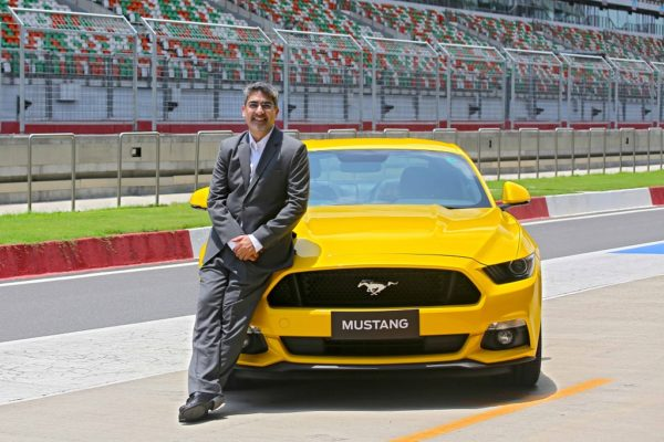 Ford Mustang launch at BIC