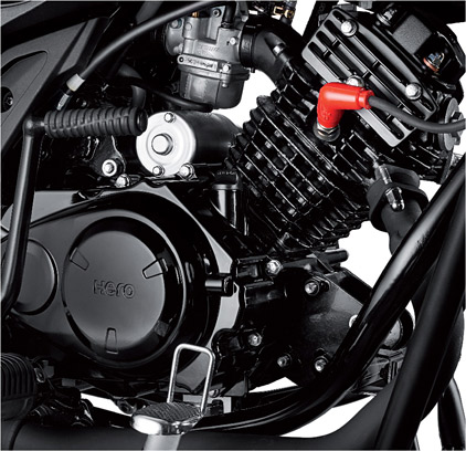 Hero Splendor iSmart 110 engine