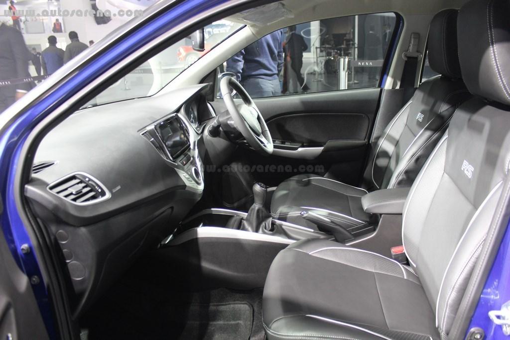 Maruti Suzuki Baleno RS Interiors 1