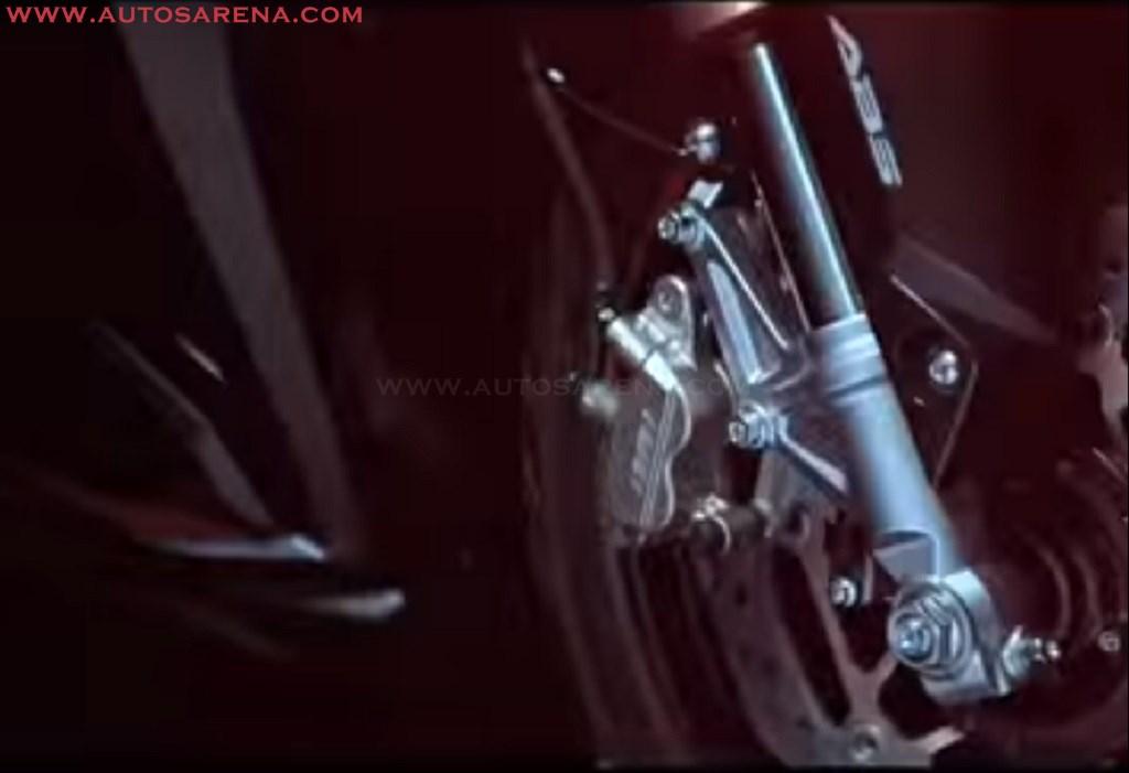 New Honda CBR 250RR front brake
