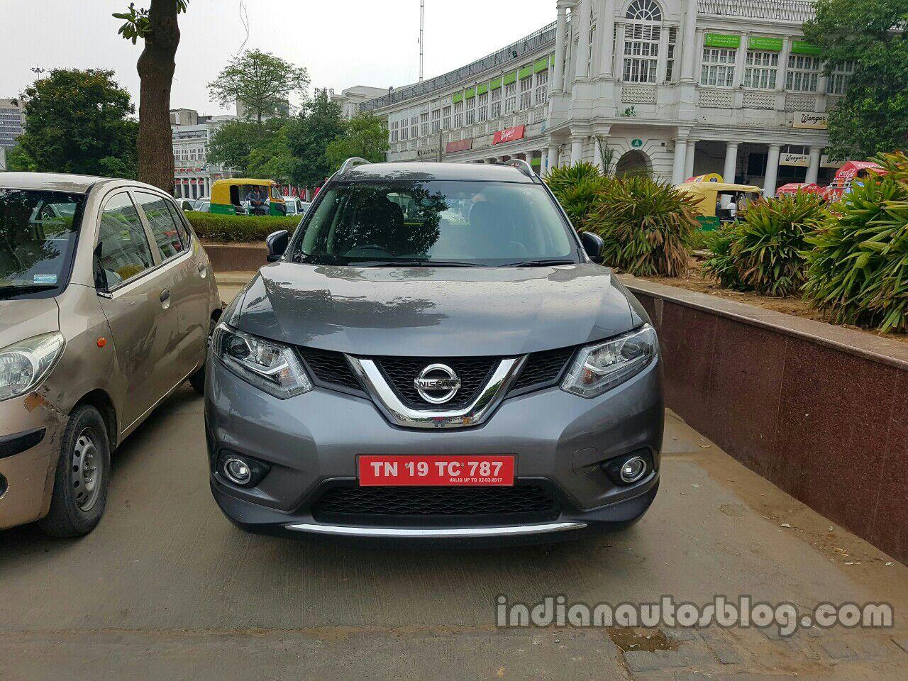 Nissan-X-Trail-Hybrid-front-spy-shot