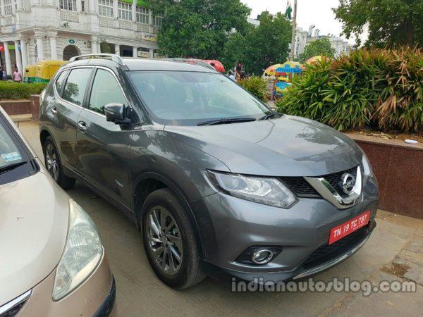 Nissan-X-Trail-Hybrid-front-three-quarters-spy-shot