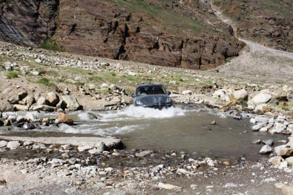when the road cstopped - enroute Zanskar