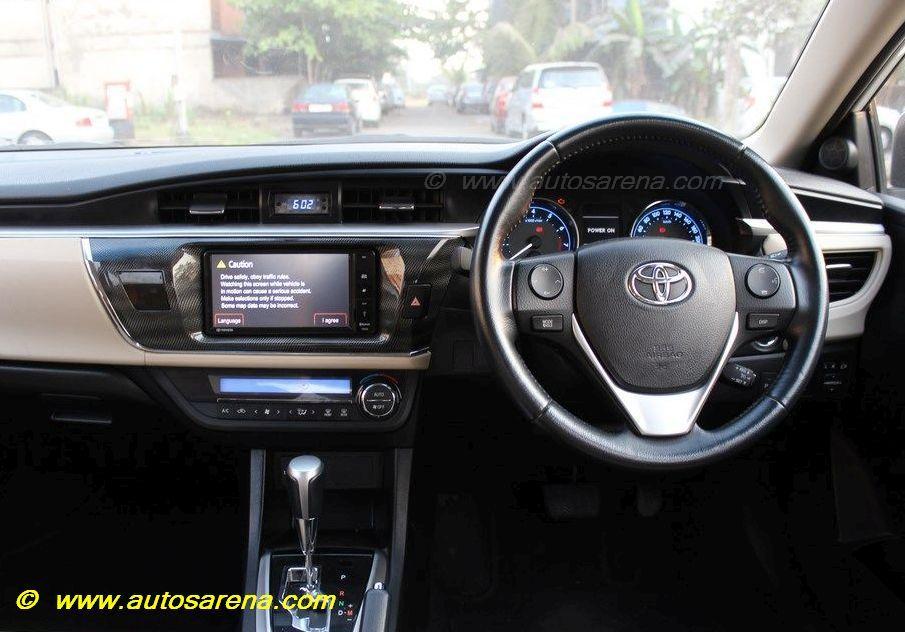 Corolla Dashboard