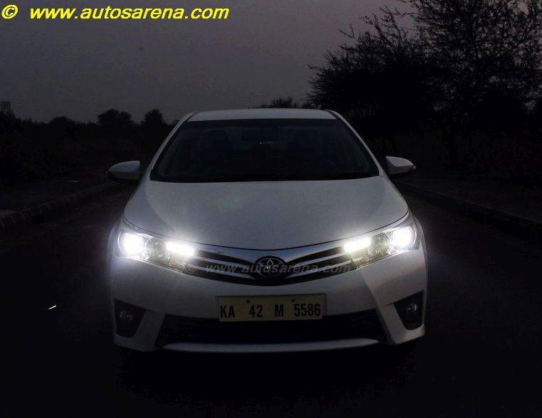 Corolla Headlight