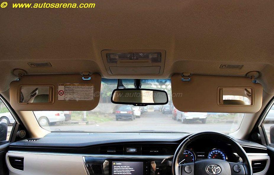 Corolla Vanity Mirrors
