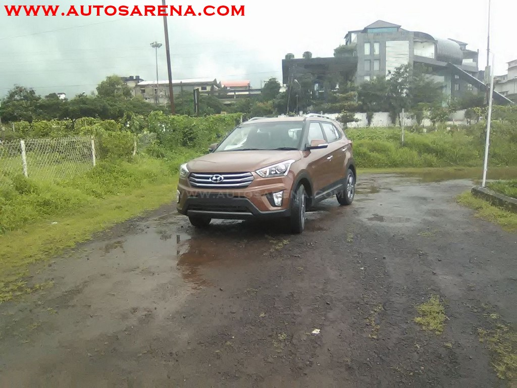 Hyundai Creata Earth Brown (3)