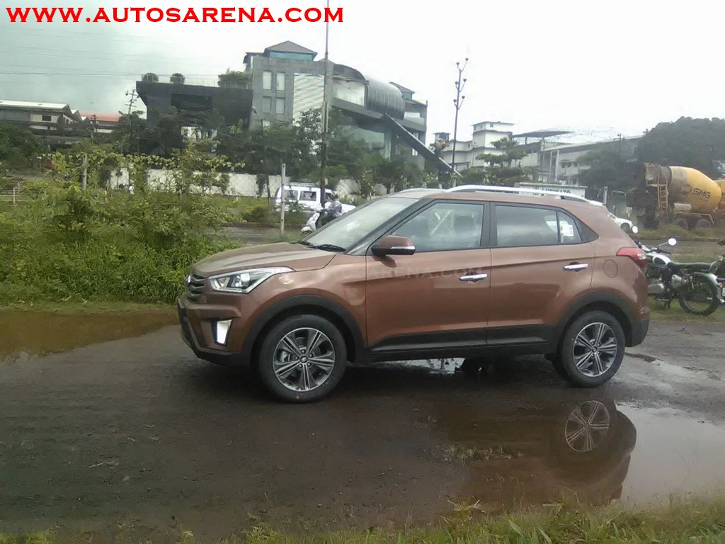 Hyundai Creata Earth Brown (4)