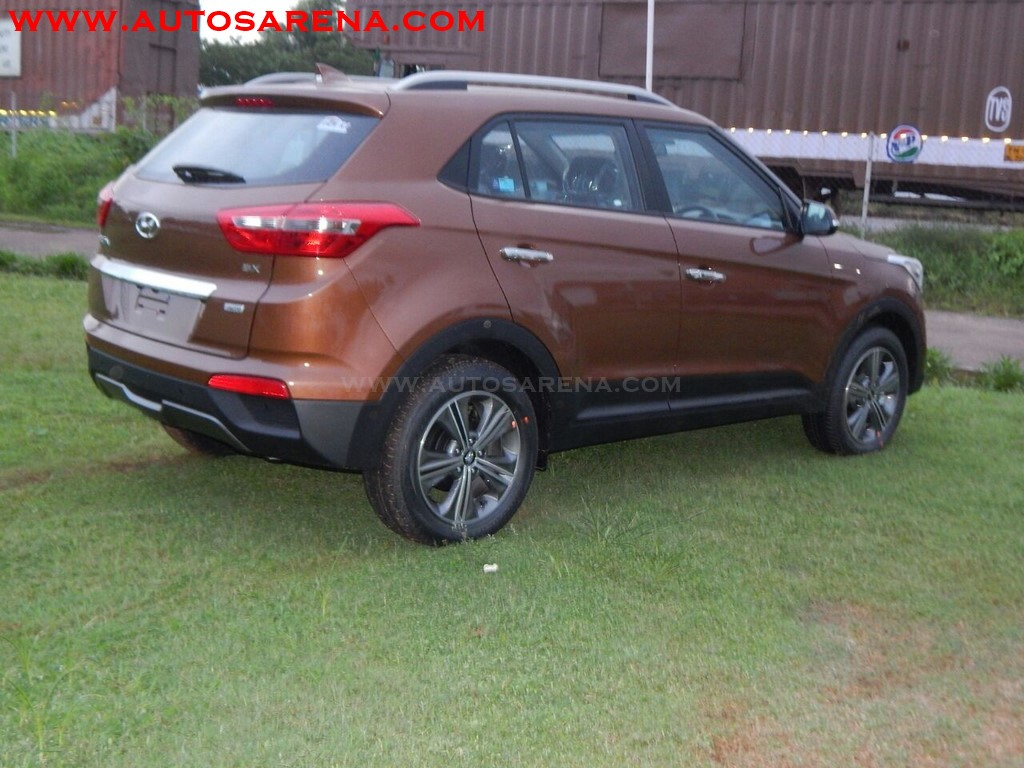 Hyundai Creata Earth Brown (7)