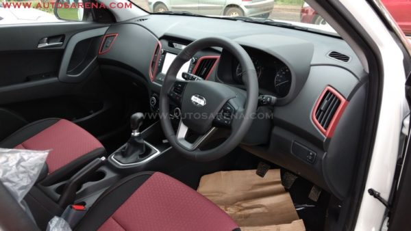 Hyundai Creta 1st Anniversay Edition interiors