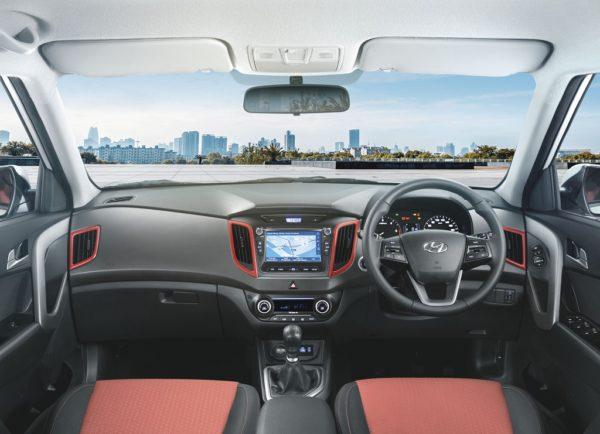 Hyundai Creta Anniversary Edition.jpg Interiors