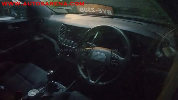 Hyundai Tucson dasboard