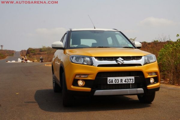Maruti Vitara Brezza with Boosterjet petrol engine launch in