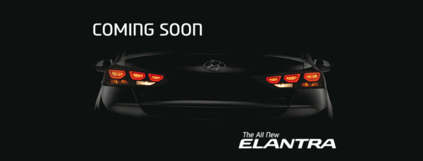 New Hyundai Elantra teaser