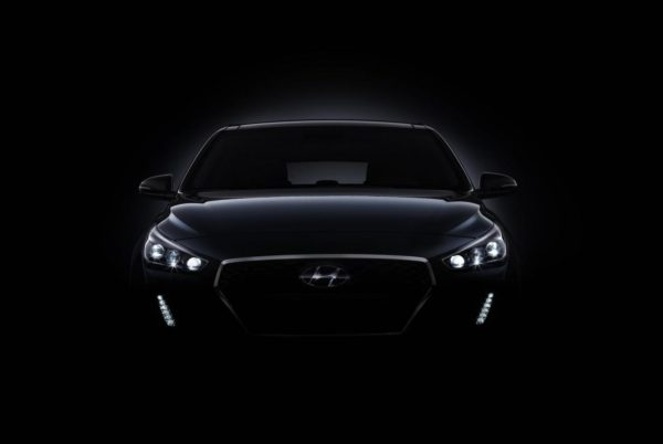 New Hyundai i30 teaser front