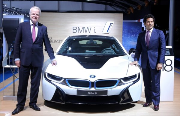 BMW i8 at Auto Expo 2014