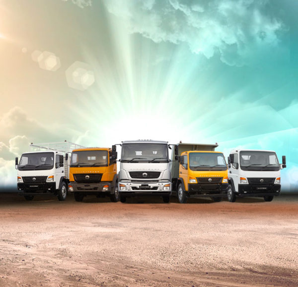 Bharat Benz Titan trucks