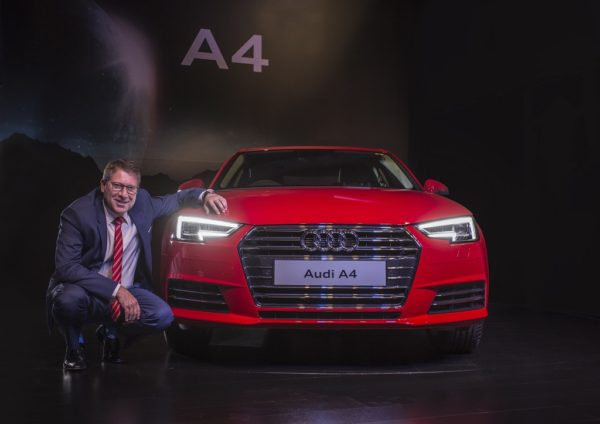 New Audi A4 launch (2)