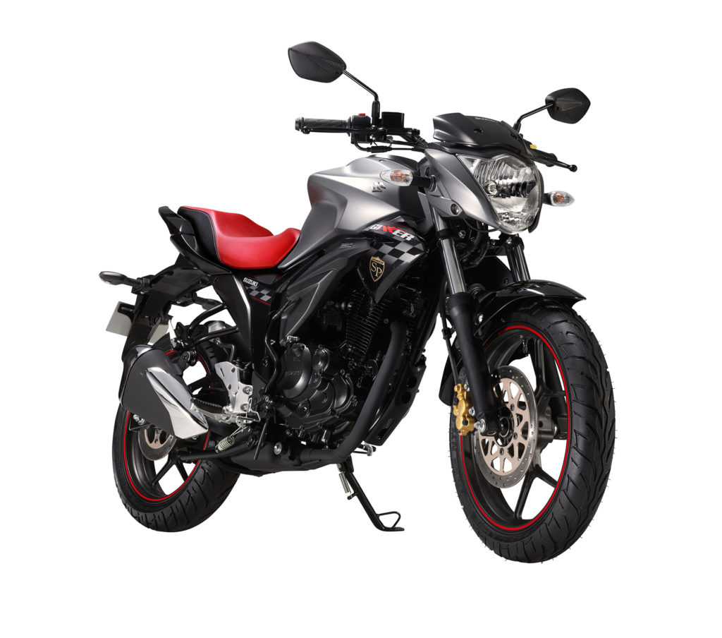Suzuki Gixxer Sp And Sf Editions Introduced Black Modified The Variant Will Be Available In Matt Fibroin Grey Glass Sparkle Ar4 Colour Cost Rs 80726 88857
